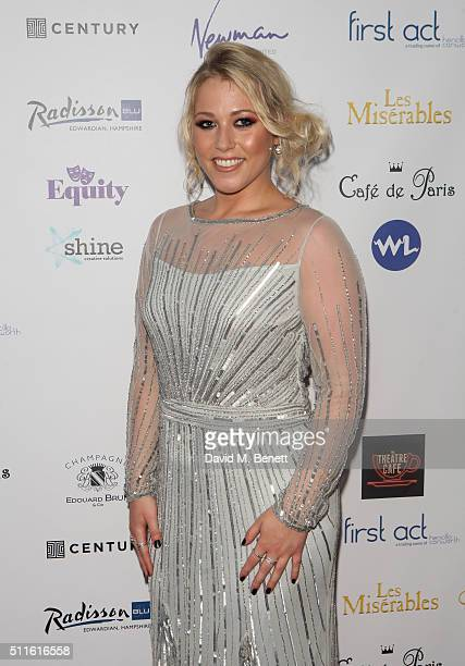Amelia Lily attends the 16th Annual WhatsOnStage Awards at The Prince of Wales Theatre on February 21 2016 in London England