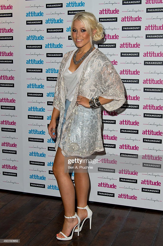 <a gi-track='captionPersonalityLinkClicked' href=/galleries/search?phrase=Amelia+Lily&family=editorial&specificpeople=8378189 ng-click='$event.stopPropagation()'>Amelia Lily</a> attends the Attitude Magazine Hot 100 party at Paramount Club on July 16, 2014 in London, England.