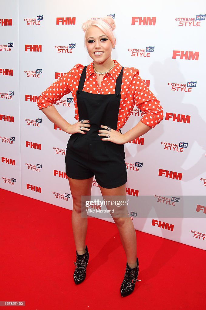 Amelia Lily attends the FHM 100 Sexiest Women In The World 2013 party at Sanderson Hotel on May 1, 2013 in London, England.