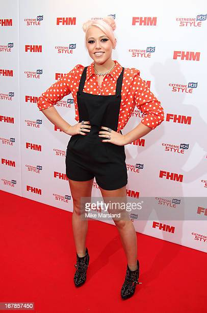 Amelia Lily attends the FHM 100 Sexiest Women In The World 2013 party at Sanderson Hotel on May 1 2013 in London England