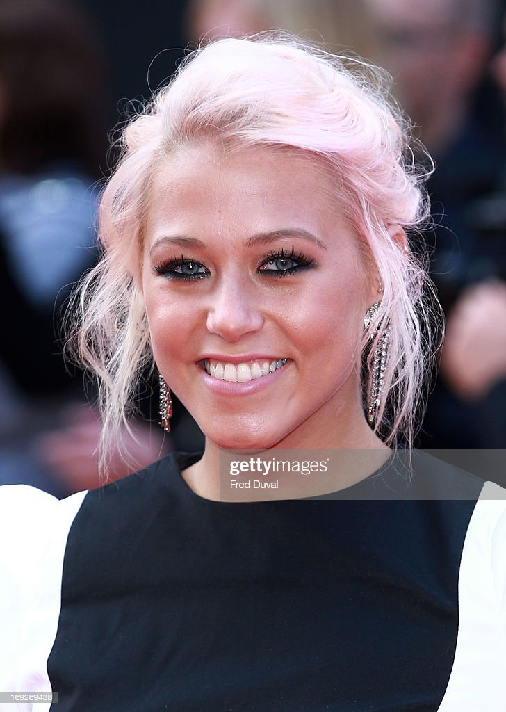 Amelia Lily attends The Hangover III - UK film premiere at The Empire Cinema on May 22, 2013 in London, England.