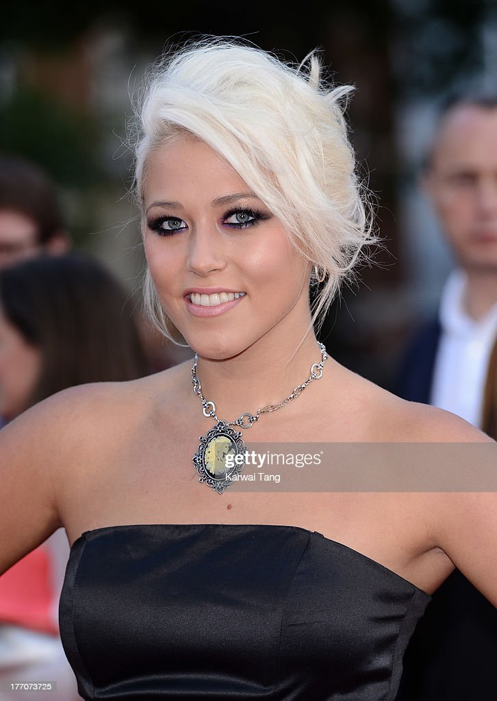 Amelia Lily attends the World Premiere of 'One Direction: This Is Us' at Empire Leicester Square on August 20, 2013 in London, England.