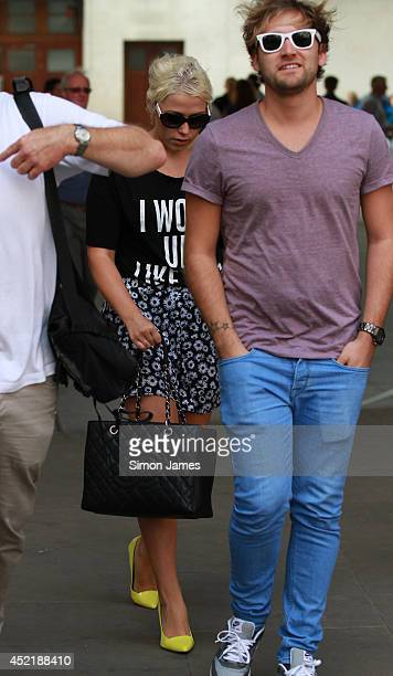 Amelia Lily is sighted at BBC Radio Studios on July 15 2014 in London England