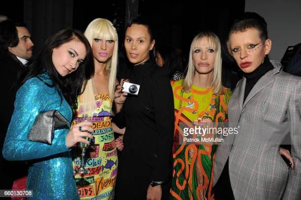 Amelia Tkach Phillipe Blond Natalie Kates Teri Toye and Kenny Kenny attend ROGER PADILHA MAURICIO PADILHA Celebrate Their Rizzoli Publication THE...