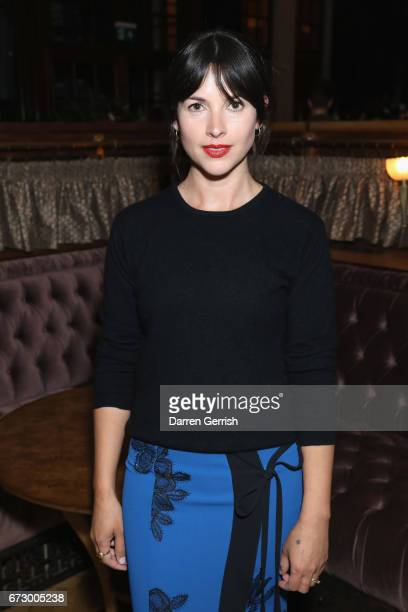 Amelia Warner attends Roland Mouret's The Dinner of Love at Cecconi's a preopening dinner at The Ned on April 25 2017 in London England