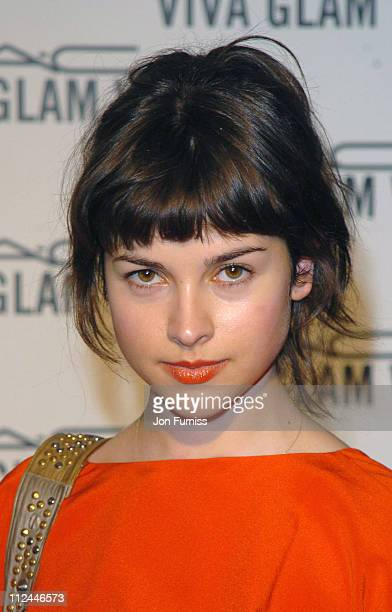 Amelia Warner during MAC Viva Glam V Launch Party Arrivals at Hempel Hotel in London Great Britain