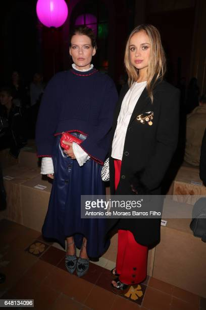 Amelia Windsor attends the Sonia Rykiel show as part of the Paris Fashion Week Womenswear Fall/Winter 2017/2018 on March 4 2017 in Paris France