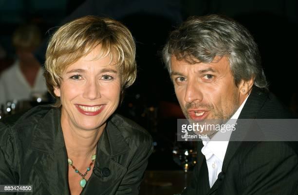 Amelie Fried Journalistin Moderatorin Autorin D mit ihrem Ehemann Peter Probst Drehbuchautor