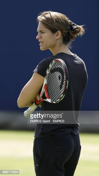 Amelie Mauresmo during the AEGON Championships at The Queen's Club London
