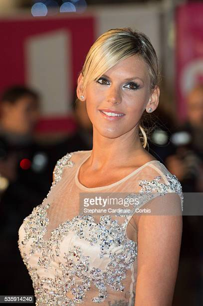 Amelie Neten attends the 15th NRJ Music Awards at Palais des Festivals in Cannes