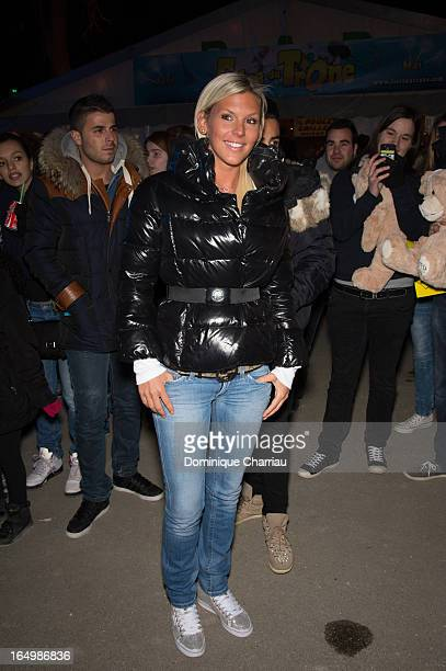 Amelie Neten attends the 50th Foire du Trone Opening Night at Pelouse De Reuilly on March 29 2013 in Paris France