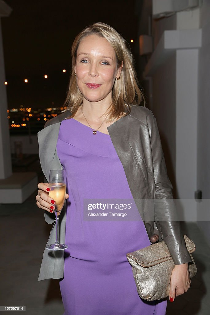 Amelie von Wedel attends the Baku Magazine Party at Soho Beach House during Miami Art Basel on December 4, 2012 in Miami Beach, Florida. Baku Magazine is dedicated to promoting contemporary art and culture in Azerbaijan.