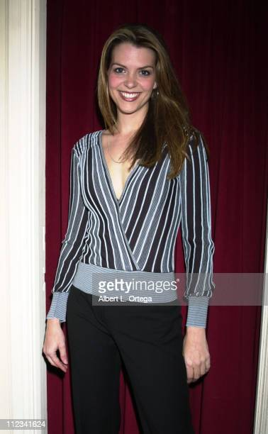 Amelinda Embry during Fifth Annual 'Buffy the Vampire Slayer' Posting Board Party at American Legion Hall in Hollywood California United States