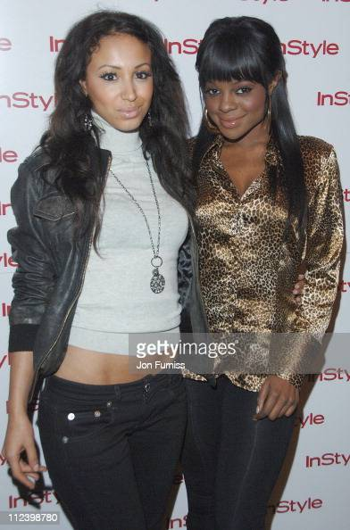 Amelle Berrabah and Keisha Buchanan during InStyle Magazine Best Beauty Awards at Sketch in London Great Britain