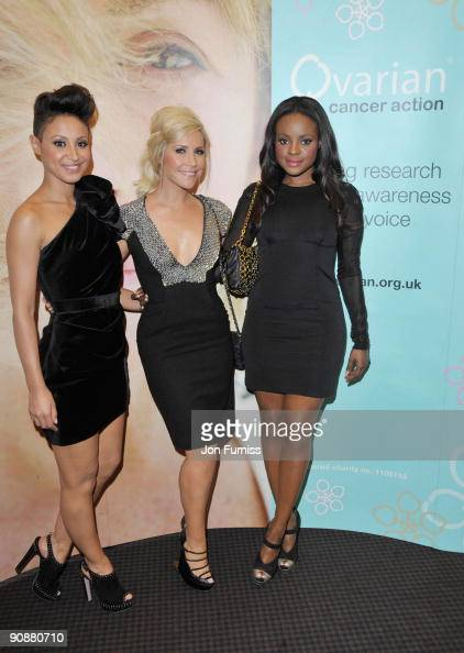 Amelle Berrabah Heidi Range and Keisha Buchanan of the Sugarbabes attends screening of The September Issue at BAFTA on August 27 2009 in London...