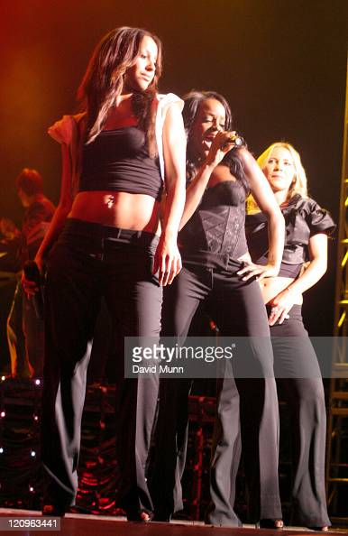 Amelle Berrabah Keisha Buchanan and Heidi Range of Sugababes