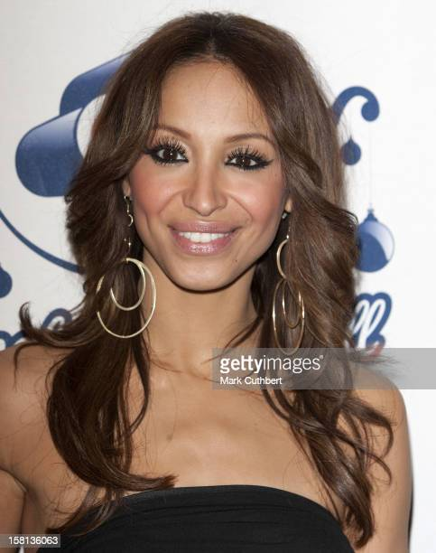Amelle Berrabah Of The Sugababes Arriving At The Jingle Bell Ball At The O2 Arena London