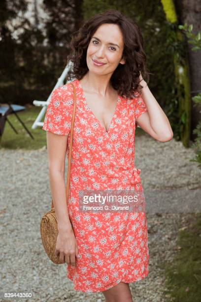 Amelle Chahbi attends the 10th Angouleme FrenchSpeaking Film Festival on August 26 2017 in Angouleme France