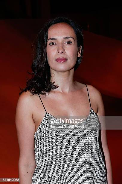 Amelle Chahbi attends the 'Cactus de Cartier' Jewellery Creations at Palais De Tokyo on July 2 2016 in Paris France