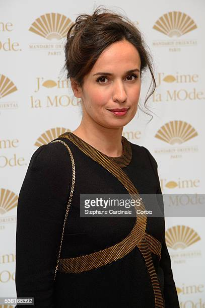 Amelle Chahbi attends the 'J'aime La Mode' Party at Mandarin Oriental on September 28 2015 in Paris France