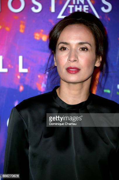 Amelle Chahbi attends the Paris Premiere of the Paramount Pictures release 'Ghost In The Shell' at Le Grand Rex on March 21 2017 in Paris France