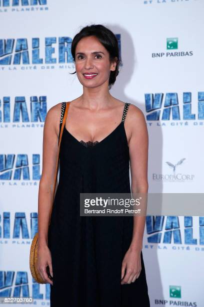 Amelle Chahbi attends 'Valerian et la Cite des Mille Planetes' Paris premiere at La Cite Du Cinema on July 25 2017 in SaintDenis France