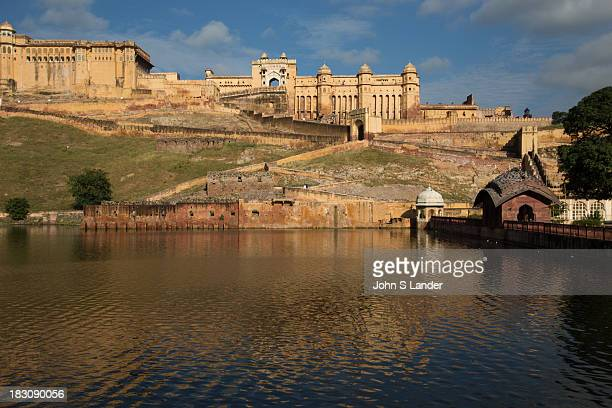Amer Fort was built by Raja Man Singh and is well known for its architectural style of Hindu elements Inside the fort complex is an opulent palace...