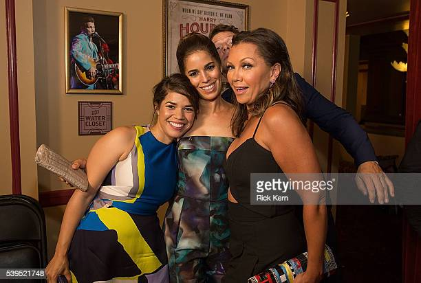 America Ferrera Ana Ortiz Eric Mabius and Vanessa Williams attend the Ugly Betty Reunion presented with Entertainment Weekly at the ATX Television...