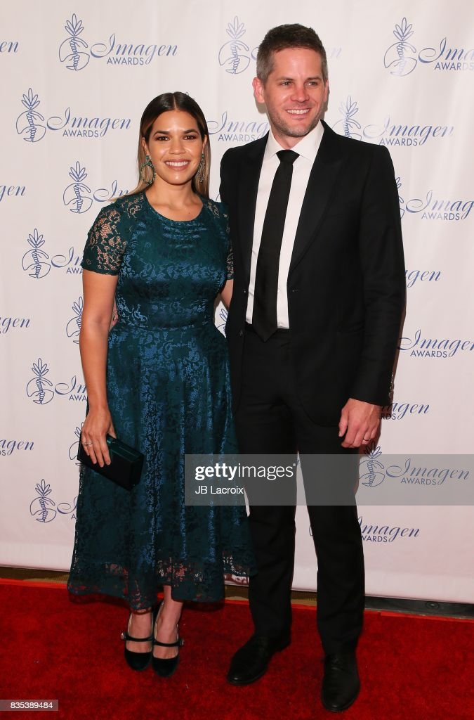 America Ferrera and Ryan Piers Williams attend the 32nd annual Imagen Awards on August 18, 2017 in Los Angeles, California.