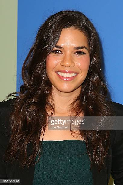 America Ferrera arrives at FYC at UCB for NBC's 'Superstore' at UCB Sunset Theater on June 7 2016 in Los Angeles California