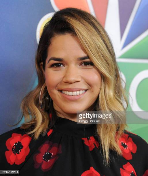 America Ferrera arrives at the 2017 Summer TCA Tour NBC Press Tour at The Beverly Hilton Hotel on August 3 2017 in Beverly Hills California
