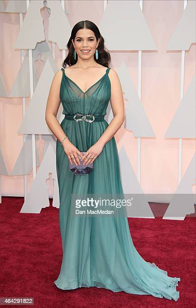 America Ferrera arrives at the 87th Annual Academy Awards at Hollywood Highland Center on February 22 2015 in Los Angeles California