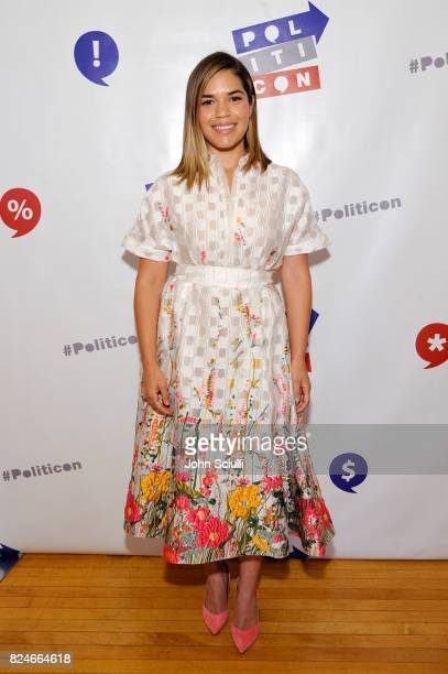 America Ferrera at Politicon at Pasadena Convention Center on July 30 2017 in Pasadena California