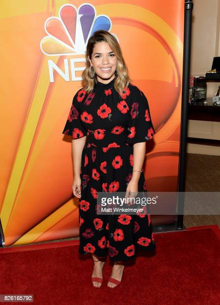 America Ferrera at the NBCUniversal Summer TCA Press Tour at The Beverly Hilton Hotel on August 3 2017 in Beverly Hills California