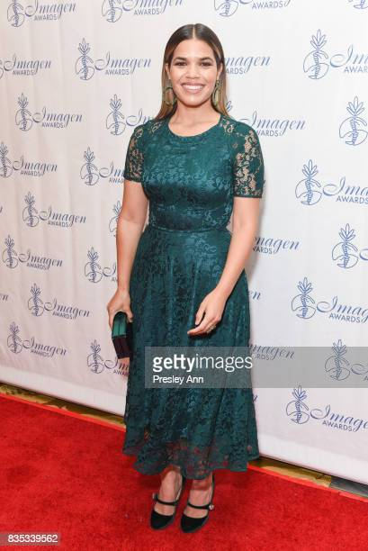 America Ferrera attends the 32nd Annual Imagen Awards at the Beverly Wilshire Four Seasons Hotel on August 18 2017 in Beverly Hills California