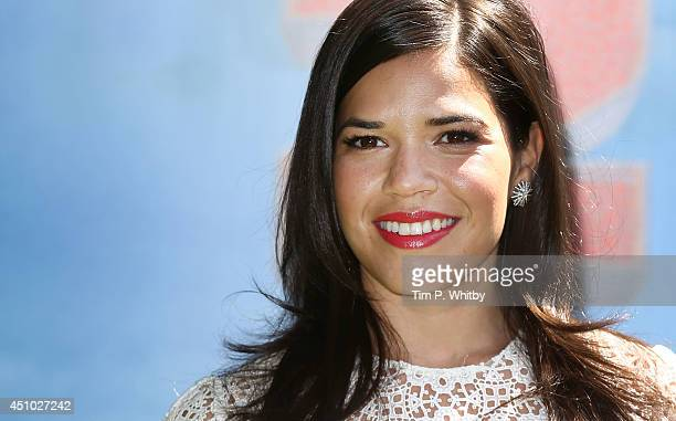 America Ferrera attends the UK Gala Screening of 'How To Train Your Dragon 2' in 3D at Vue West End on June 22 2014 in London England
