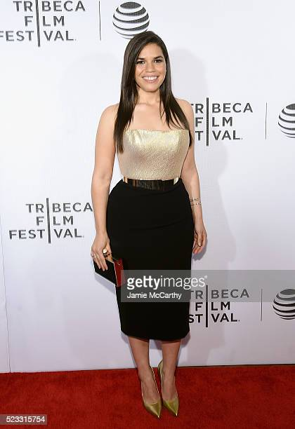 America Ferrera attends Tribeca Talks After the Movie 'Special Correspondents' 2016 Tribeca Film Festival at John Zuccotti Theater at BMCC Tribeca...