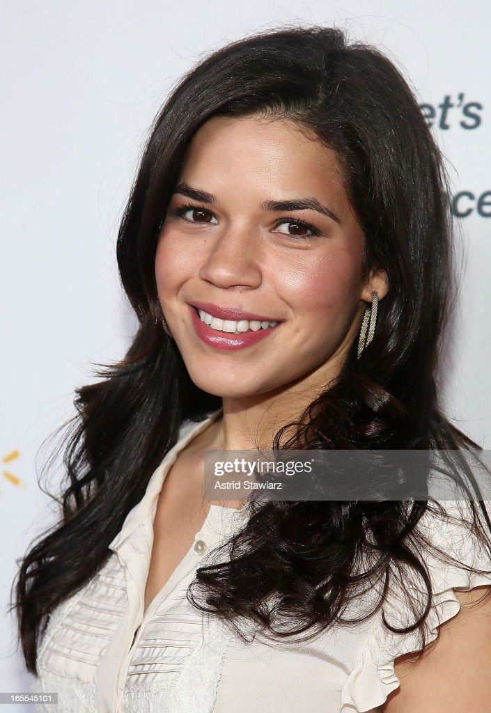 America Ferrera attends Women in the World Summit 2013 on April 4, 2013 in New York, United States.