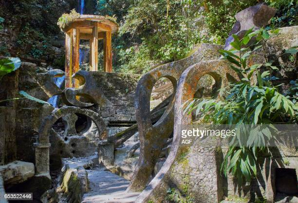America Mexico San Luis Potosi State Huasteca Area Magic Town Of Xilitla The Surreal Garden Las Pozas Created By Edward James In 1962 With A Lot Of...