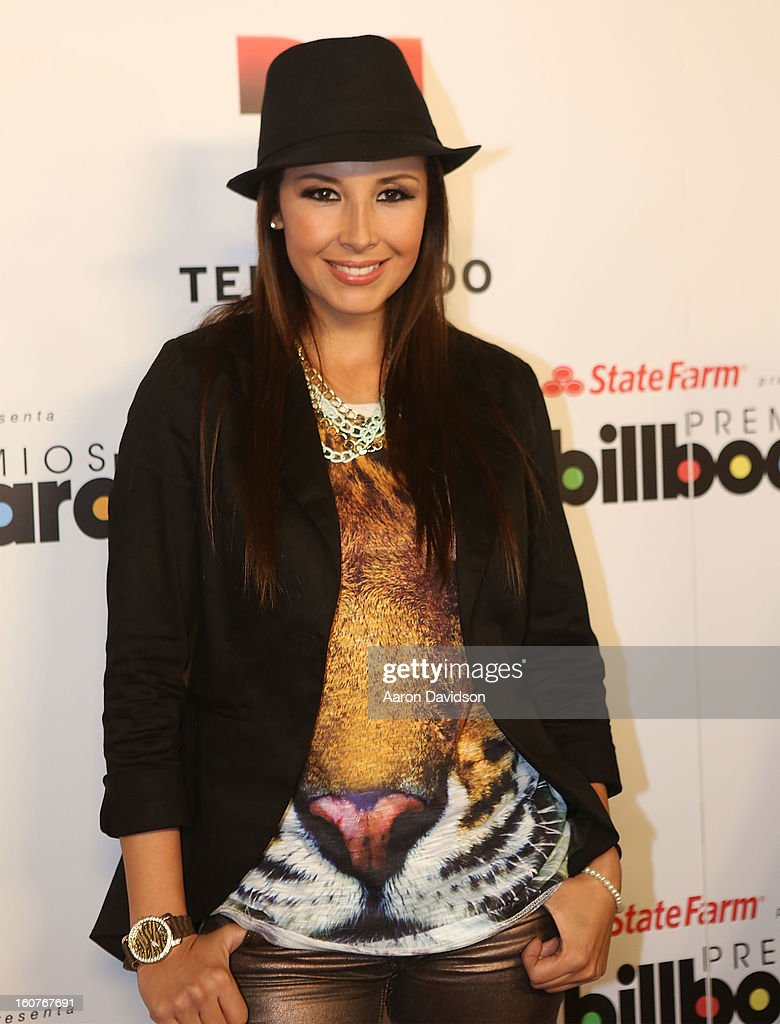 America Sierra attends Telemundo and Premios Billboard 2013 Press Conference at Gibson Miami Showroom on February 5, 2013 in Miami, Florida.