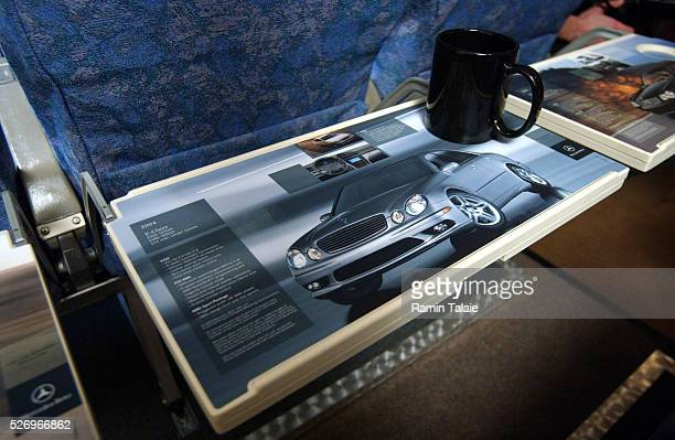 America West Airlines in conjunction with Las Vegasbased SkyMedia International present tray table advertisement a new and innovative advertising...