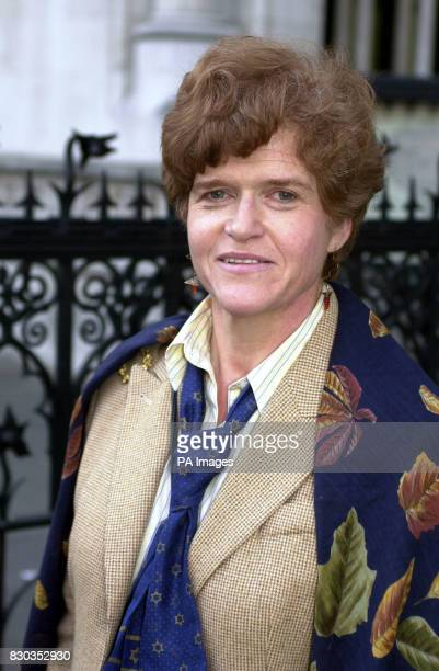 American academic Professor Deborah Lipstadt in London where she is contesting a libel action brought by controversial historian David Irving * Mr...