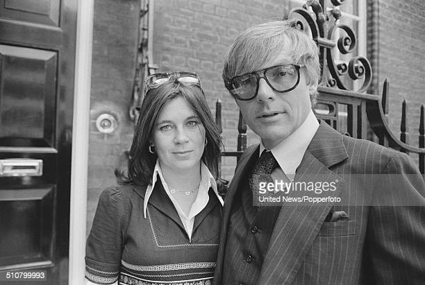 American actor Adam West pictured in London with his wife Marcelle Tagand Lear on 17th May 1976