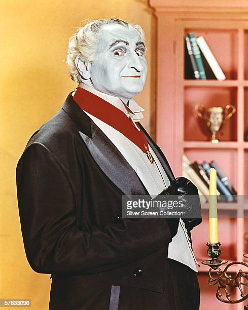American actor Al Lewis as Grandpa in ghoulish TV series 'The Munsters' circa 1965