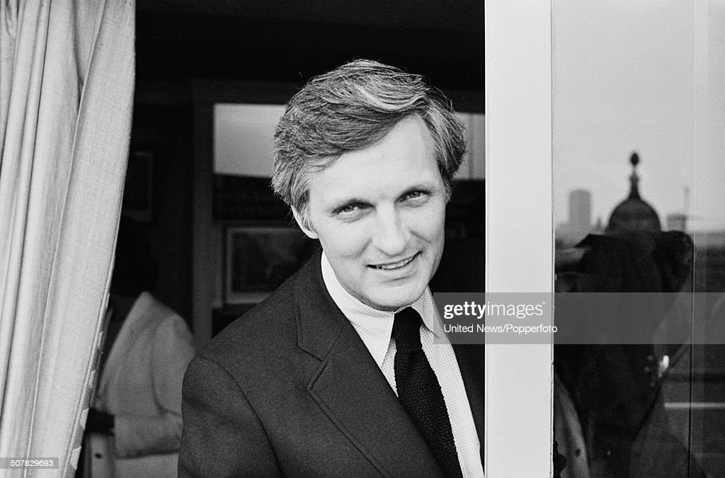 American actor Alan Alda posed on the roof of a building in London on 2nd September 1981