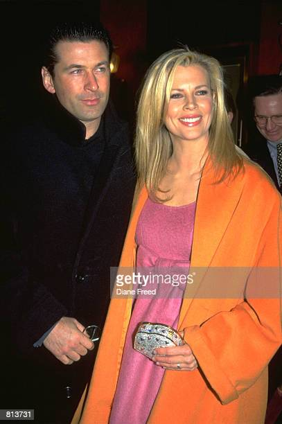American actor Alec Baldwin and wife actress Kim Basinger
