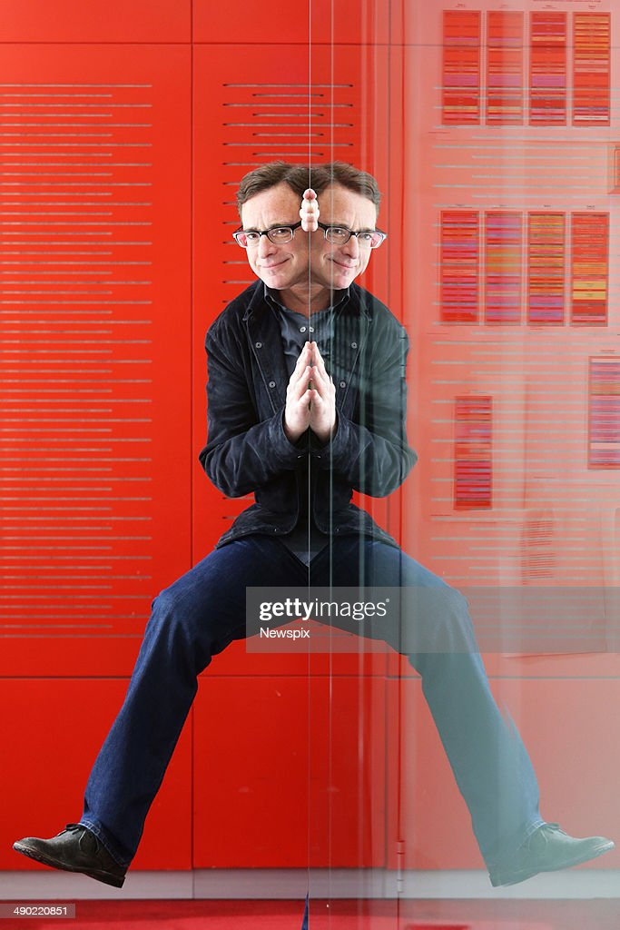American actor and comedian <a gi-track='captionPersonalityLinkClicked' href=/galleries/search?phrase=Bob+Saget&family=editorial&specificpeople=209388 ng-click='$event.stopPropagation()'>Bob Saget</a> poses during a photo shoot at Nova headquarters, Pyrmont on May 13, 2014 in Sydney, Australia.