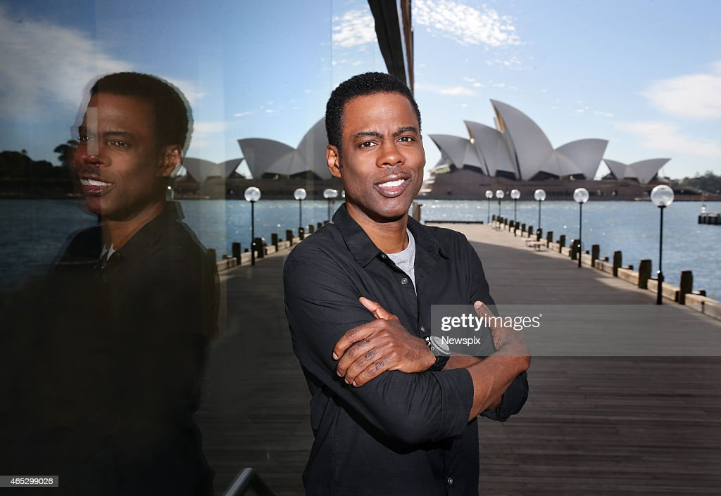 American actor and comedian <a gi-track='captionPersonalityLinkClicked' href=/galleries/search?phrase=Chris+Rock&family=editorial&specificpeople=202982 ng-click='$event.stopPropagation()'>Chris Rock</a> poses during a photo shoot at The Rocks on March 5, 2015 in Sydney, Australia to promote his new film, 'Top Five'.