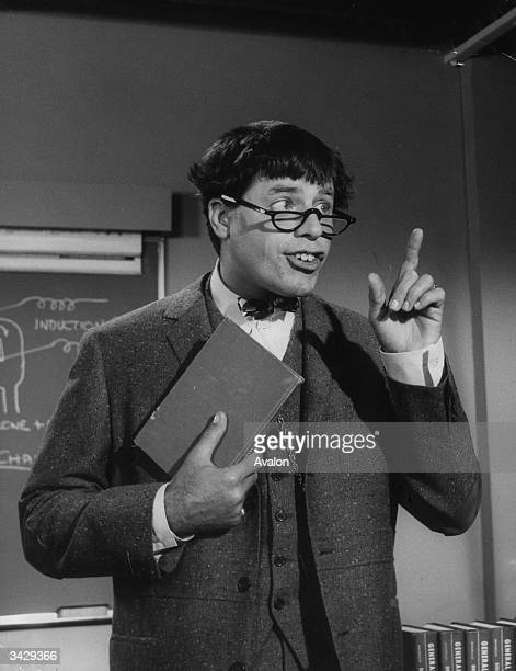 American actor and comedian Jerry Lewis in 'The Nutty Professor'