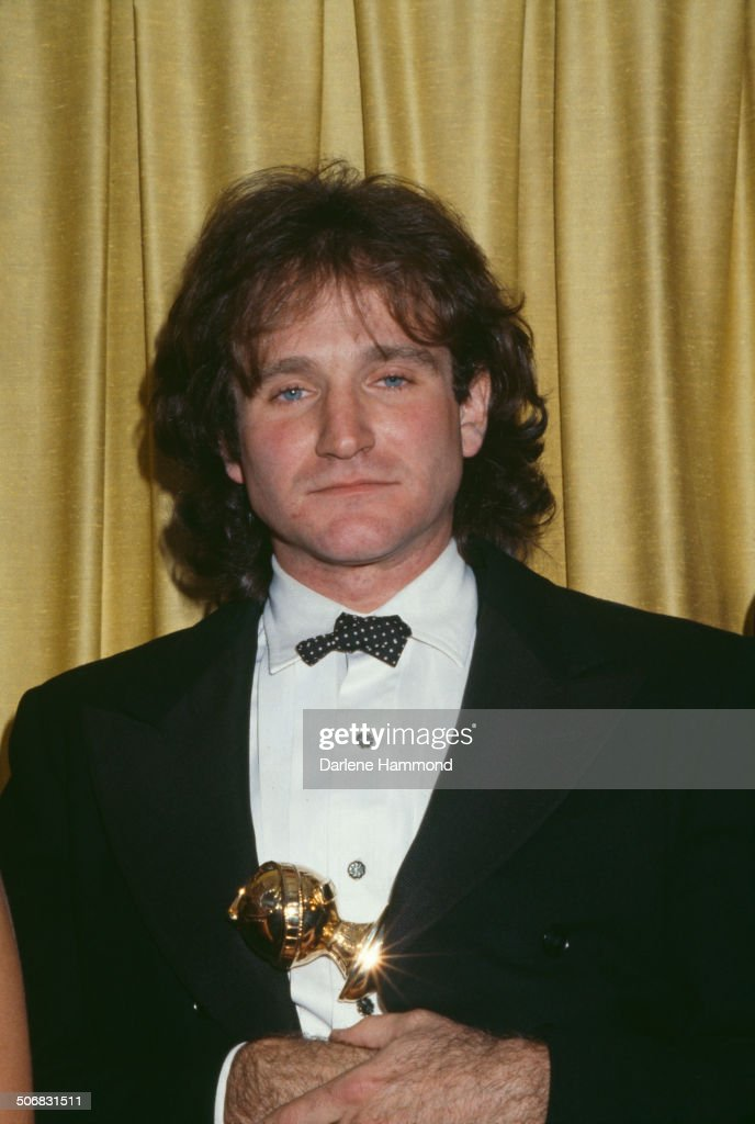American actor and comedian Robin Williams during the 36th Annual Golden Globe Awards in Beverly Hills California United States 27th January 1979